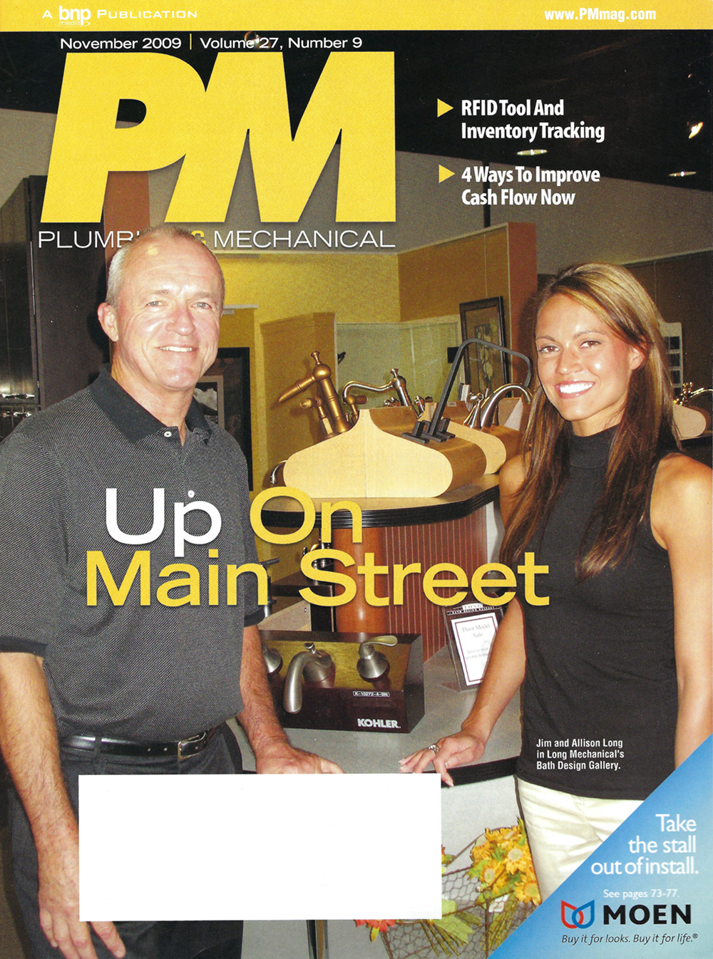 Plumbing & Mecahanical Magazine Cover
