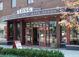 Long Kitchen & Bath Design Gallery in Downtown Northville